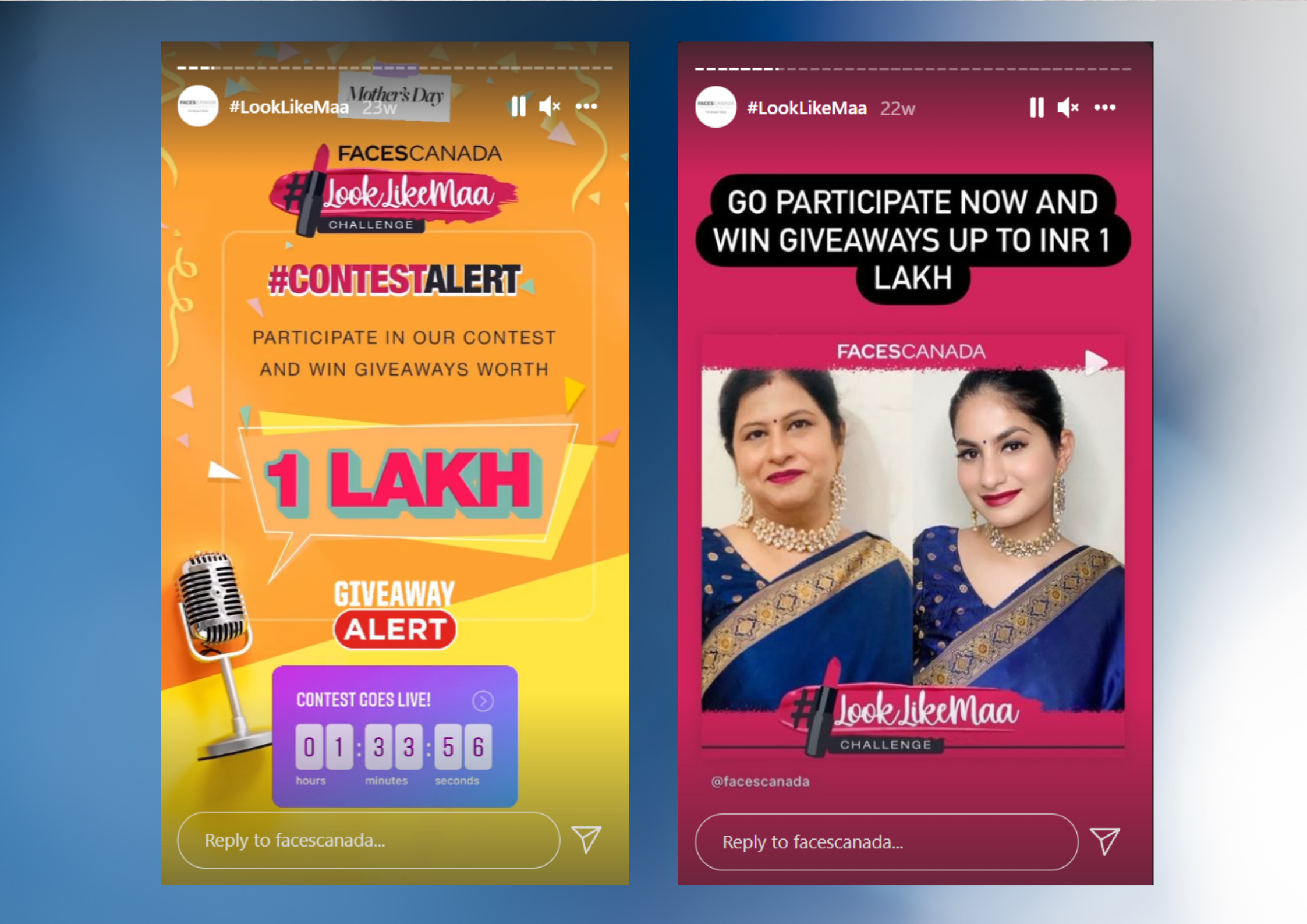 Instagram Stories for promotions